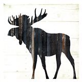 Wood On Wood Moose