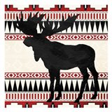 Aztec Moose Red