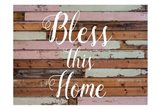 Bless This Home Barnwood