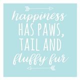 Happiness Paws Blue