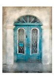 Teal Doorway