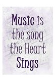 Music is the Song A