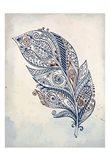 Feather Henna 1