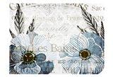 Soft Floral Blue 4