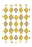 Painted Pattern Mustard 1