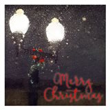 Light Post Christmas