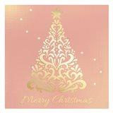 Merry Christmas Ornate Tree
