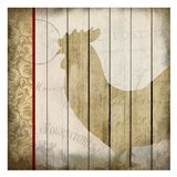 Damask Rooster 1
