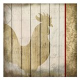 Damask Rooster 2