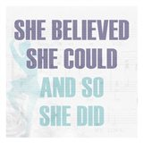 She Believed 2