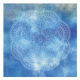 Deep Blue Mandala 2