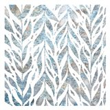 Frosted Blue Pattern 1