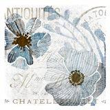 Soft Floral Blue 1