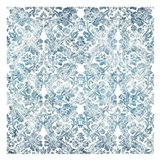 Soft Floral Blue Pattern 2