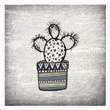Newspaper Cactus 1