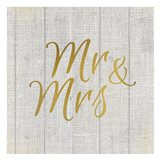 Mr and Mrs Burlap
