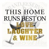 Love Laughter and Wine