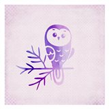 Purple Pink Owl 2