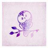 Purple Pink Owl 3
