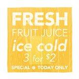 Fresh Juice Yellow