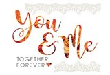 Wedding Typo Lace 4