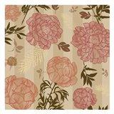 Vintage Floral Stripe set 01