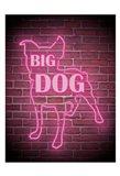 Neon Big Dog