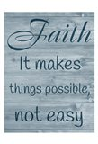 Faithful Possibilities