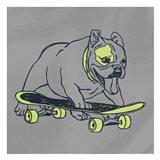 Skateboarding Chuck