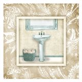 Borderered Teal Sink