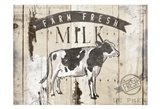 Farm Fresh Milk Horizontal