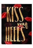 Kiss My Gold Heels