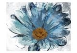 Sketched Blue Flower