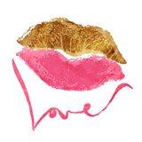 Love Lips White
