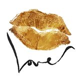 Love Lips Gold