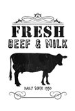 Fresh Beef And Milk