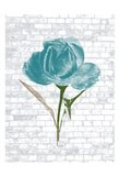 Blue Brick Floral 2