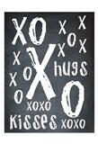 Hugs and Kisses BW