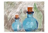 Blue Glass Bottles