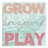 Grow Inspire Play Aqua