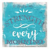 Be Our Strength Rustic Aqua