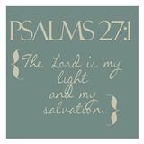 Psalms 27-1 simple