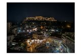 Greece Athens Acropolis Night 1