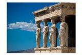 Greece Athens Acropolis Statues