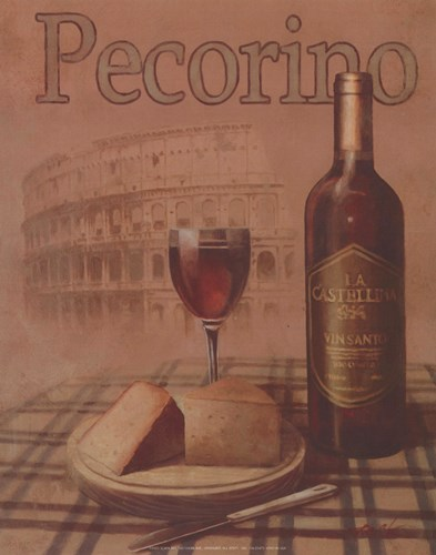Pecorino - Roma Poster by T.C. Chiu for $7.50 CAD