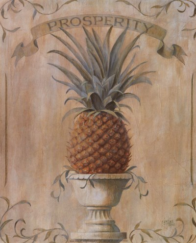 Pineapple - Prosperity Poster by Ron Jenkins for $7.50 CAD
