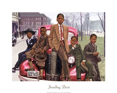 Sunday Best Poster by Gregory Myrick for $18.75 CAD