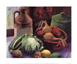 Vegetables and Stone Crocks