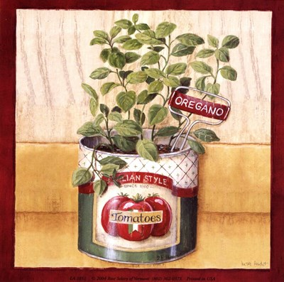 Oregano Poster by Lisa Audit for $10.00 CAD