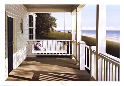 Shore House Poster by Zhen-Huan Lu for $57.50 CAD
